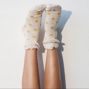 ✨ Statement Socks with Glitter. Polka Dots